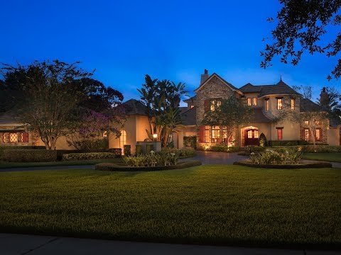 Stunning Luxury Waterfront Estate in Windermere Florida