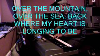 I SEE THE MOON (OVER THE MOUNTAIN) -  A SONG FROM 1953 - (PIANO) WRITTEN BY MEREDITH WILLSON