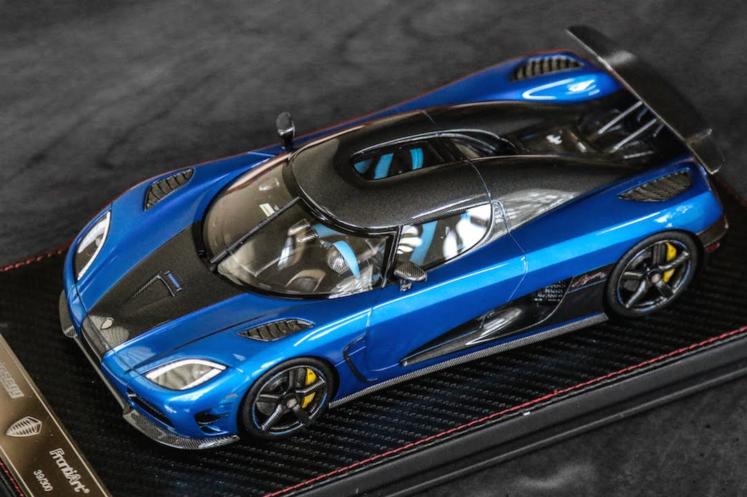 Review 1 18 Scale Koenigsegg Agera Hh By Frontiart Youtube