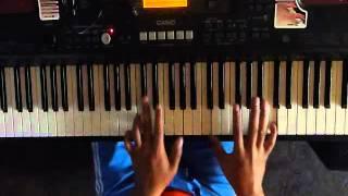 tutorial como tocar montuno de salsa piano  - Abner Vilchez Flores