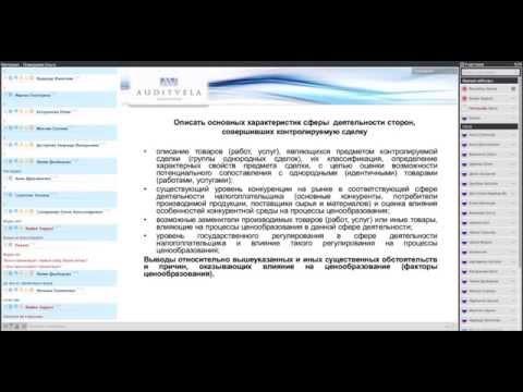 Подготовка и представление документации в целях налогового контроля