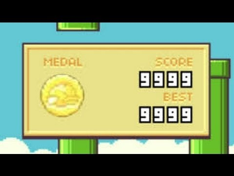 Flappy Bird-High Score 9999!impossible