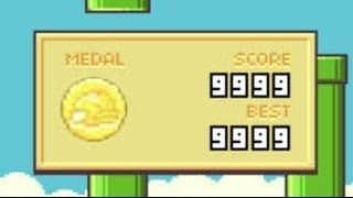 flappy bird high score 9999 impossible