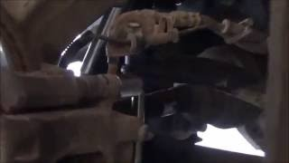 Замена тормозных колодок.How to replace install brake pads.
