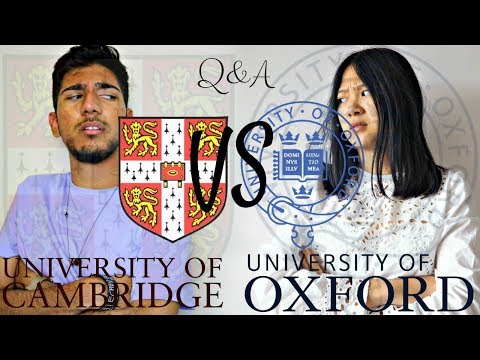 Oxford vs Cambridge (Asian Edition) - Ep 1 UNIVERSITY Q&A Ft Viola Helen