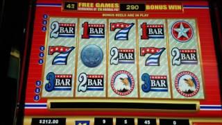 American Original high limit slot jackpot handpay  $45 max bet 50 free spins bonus