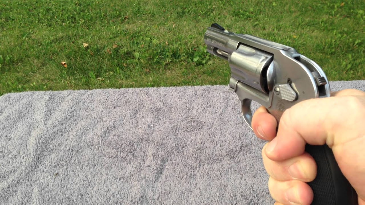Smith & Wesson 649 357 magnum tabletop review