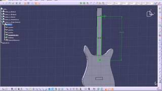 Cardboard Guitar Design