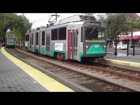 Light Rail (Green Line) in Boston