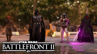 Battlefront 2 Darth Revan Heroes vs Villains Gameplay