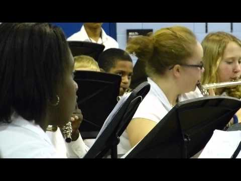 Woodmont Middle School Winter Band Concert 2012