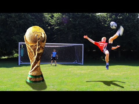 AMAZING World Cup Trick Shots