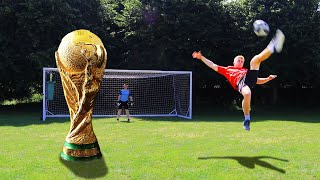 AMAZING World Cup Trick Shots