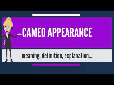 What is CAMEO APPEARANCE? What does CAMEO APPEARANCE mean? CAMEO APPEARANCE meaning