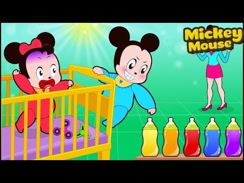 Mickey Mouse Free 2018 Mickey Mouse   Minnie Mouse children demand milk Funny Story 💗 Cartoon for K
