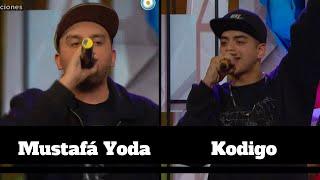Mustafá Yoda y Kodigo rapean sobre las adicciones - #MinutoDeTalento