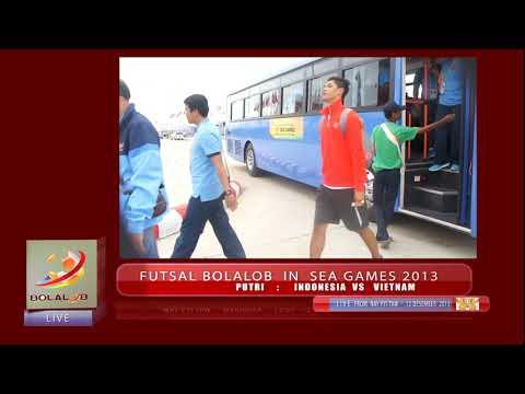 Highlights Futsal Sea Games 2013 : Indonesia vs Malaysia