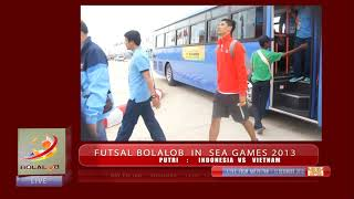 Futsal SEA GAMES 2013 : INDONESIA - MAL Putra 5 4