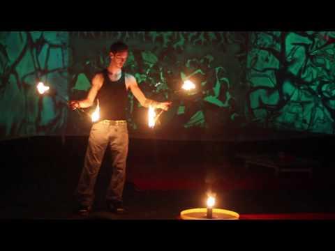 Gz duplabot - Sziget Fesztivál  (Tűz zsonglőr)