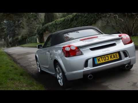 MR2 Roadster TTE Exhaust Sound