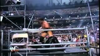 Wrestlemania 17 - Undertaker VS Triple H  Highlights HD
