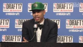 NBA Draft 2017: Boston Celtics take Jayson Tatum at No. 3