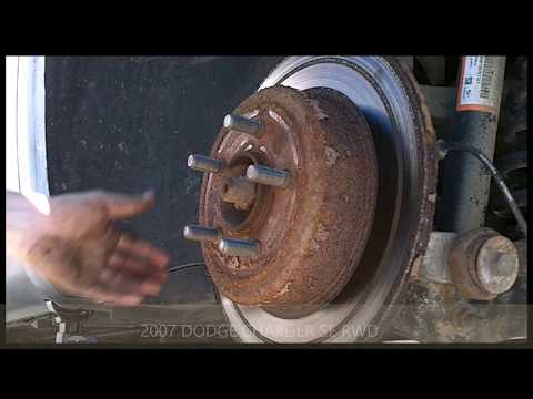 CRAZY HACK! to remove rusted rotors!!!