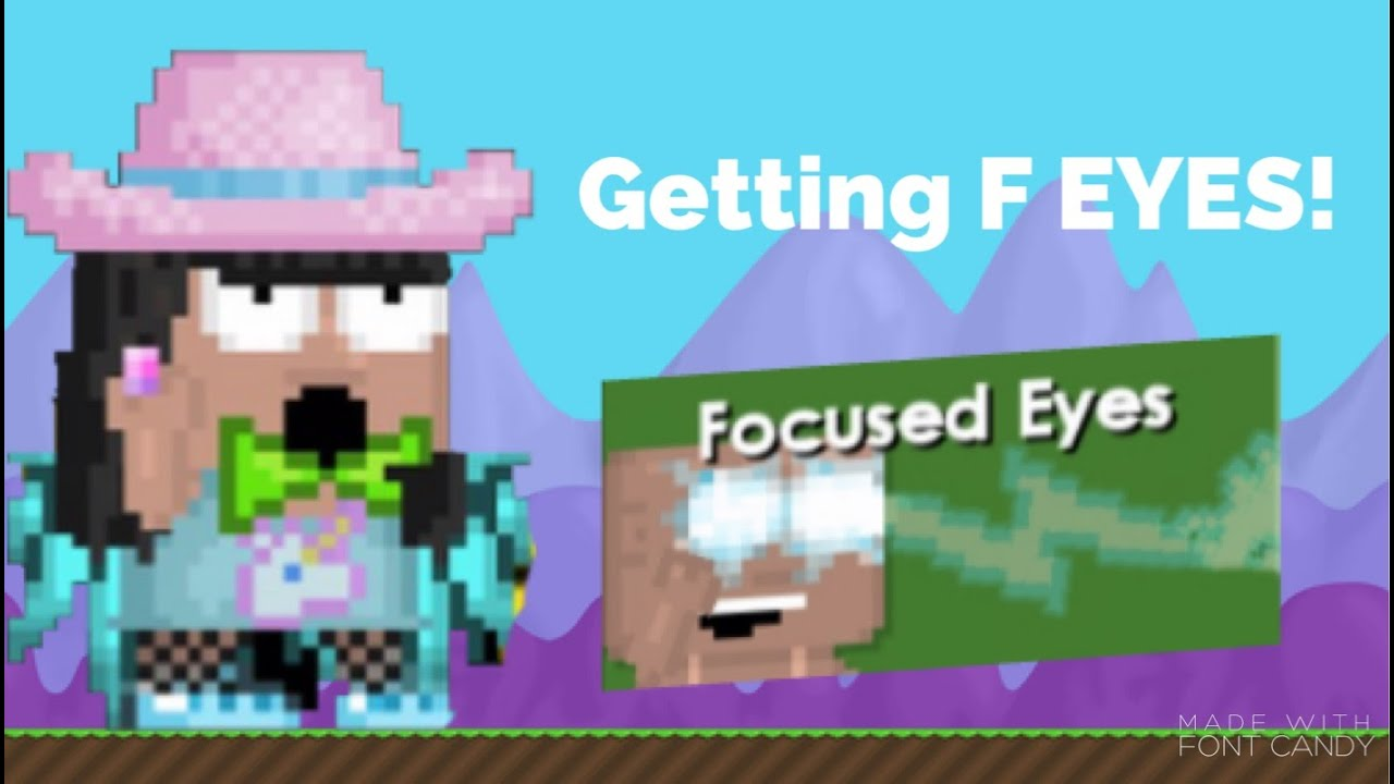 Growtopia | Getting Focused Eyes! - YouTube
