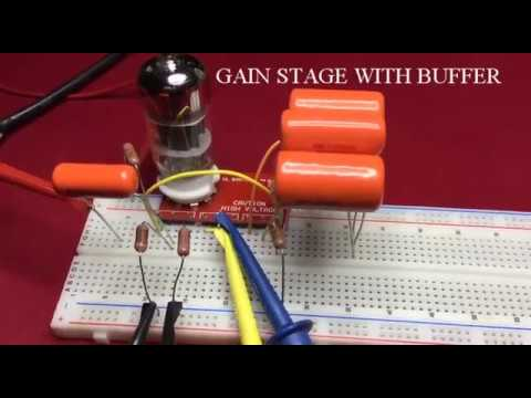How To Design A 12AX7 Gain Stage - Part 4 (Measurements)
