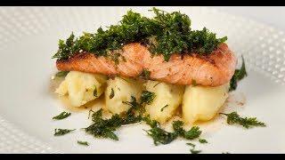 Рыба с хрустящей петрушкой | Кухня по заявкам
