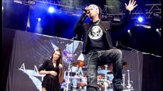 Amaranthe - Burn with me (live SommarRock Svedala 2013)