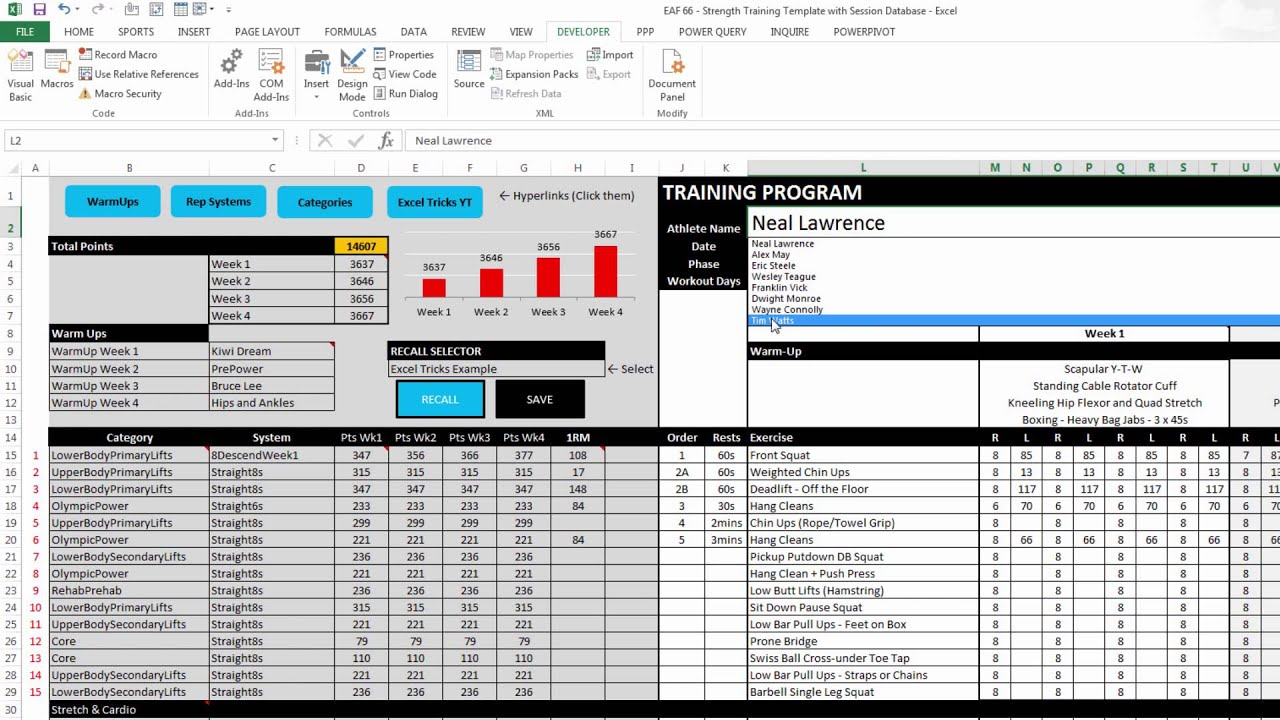 Excel templates for inventory