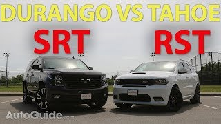 Download 2018 Dodge Durango SRT vs Chevrolet Tahoe RST Mp3 and Videos