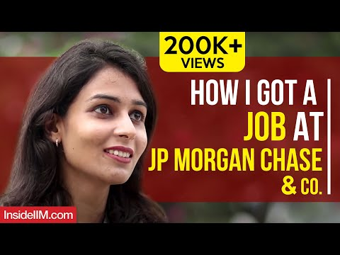 How I Got A Job At JP Morgan Chase