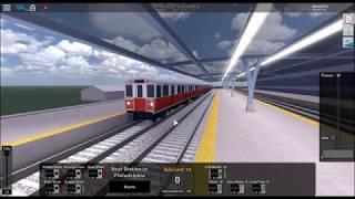 ROBLOX Rails unlimited underground station ride PT.1 START