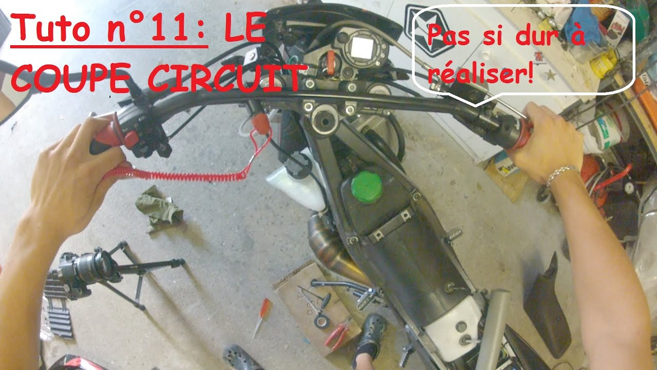 Tuto n 11 installer un coupe circuit sur moto hd youtube - Montage coupe circuit quad ...