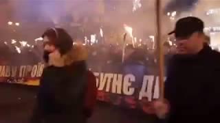 Київ | Марш до дня народження Степана Бандери | 01 01 2018
