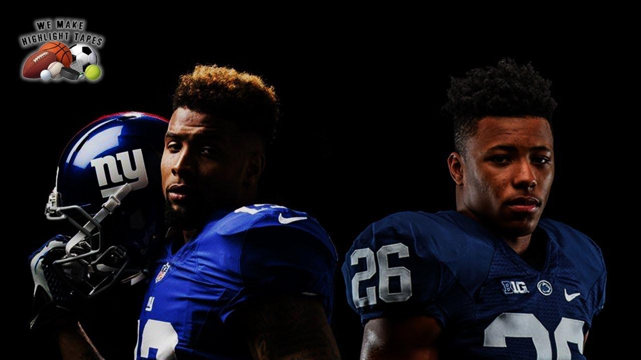a24e925f Odell Beckham Jr & Saquon Barkley || 2018 New York Giants Season Preview