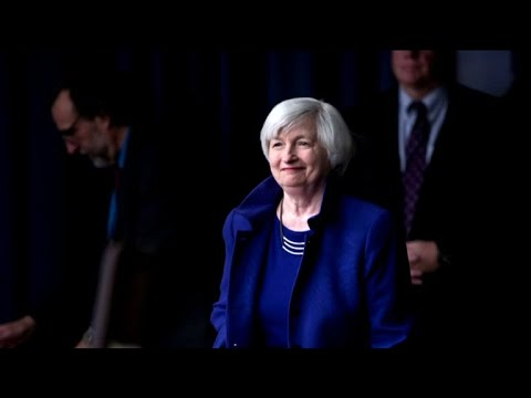 Fed chief gives upbeat view of economy after raising interest rates