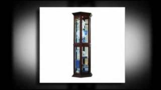 Small Curio Cabinet - Curiocabinetspot.com - Call 888-752-8746