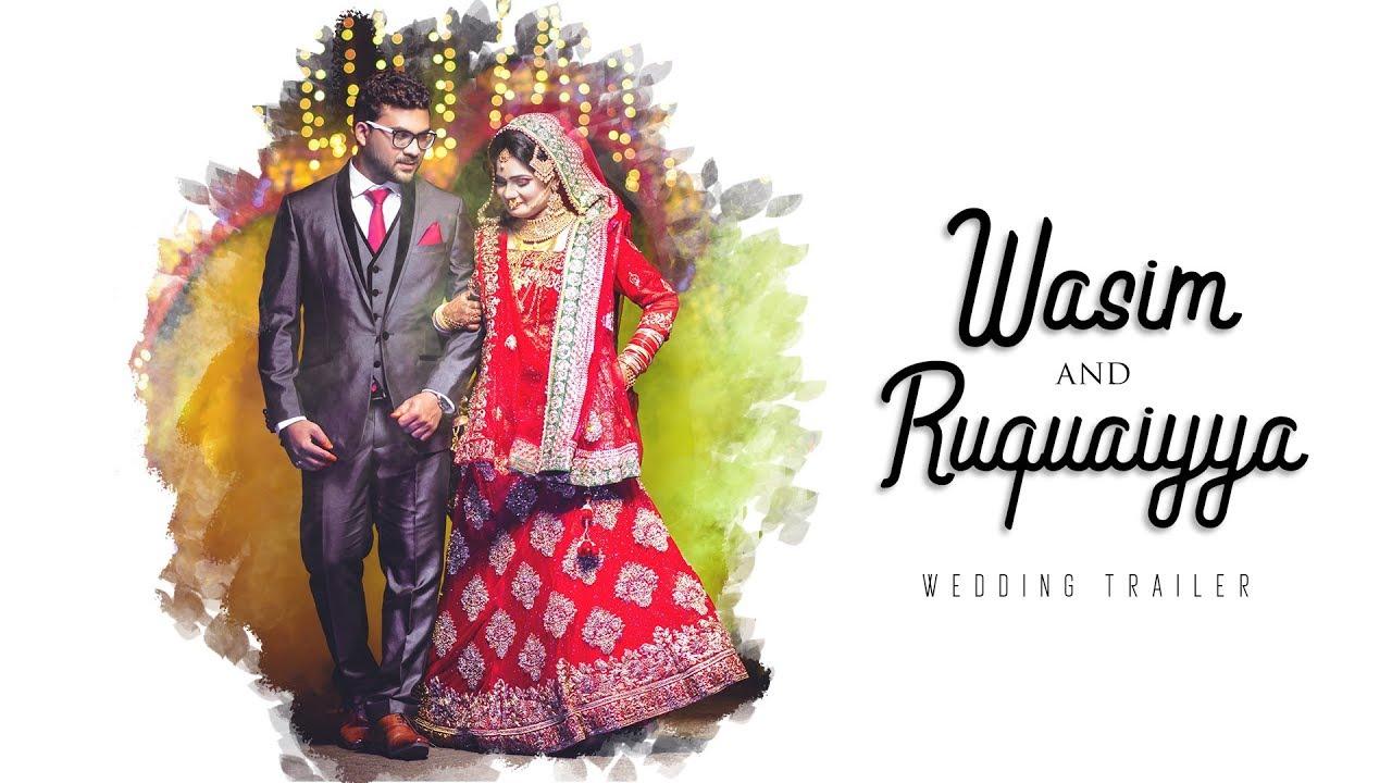 Wasim & Ruquaiyya || Best Muslim Wedding Highlights 2019 || THE MOMENT  EXPOSURE