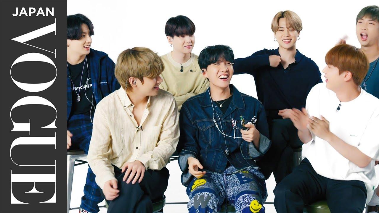 BTS、ファンのカバーを大絶賛&感動のメッセージ! | VOGUE JAPAN