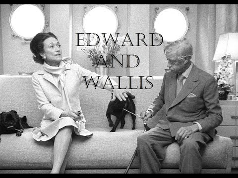 Edward VIII and Wallis Simpson - Interview with Kenneth Harris (video)