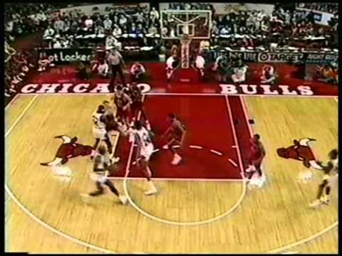 Michael Jordan 57 pts,10 ast, season 1992/93 bulls vs bullets