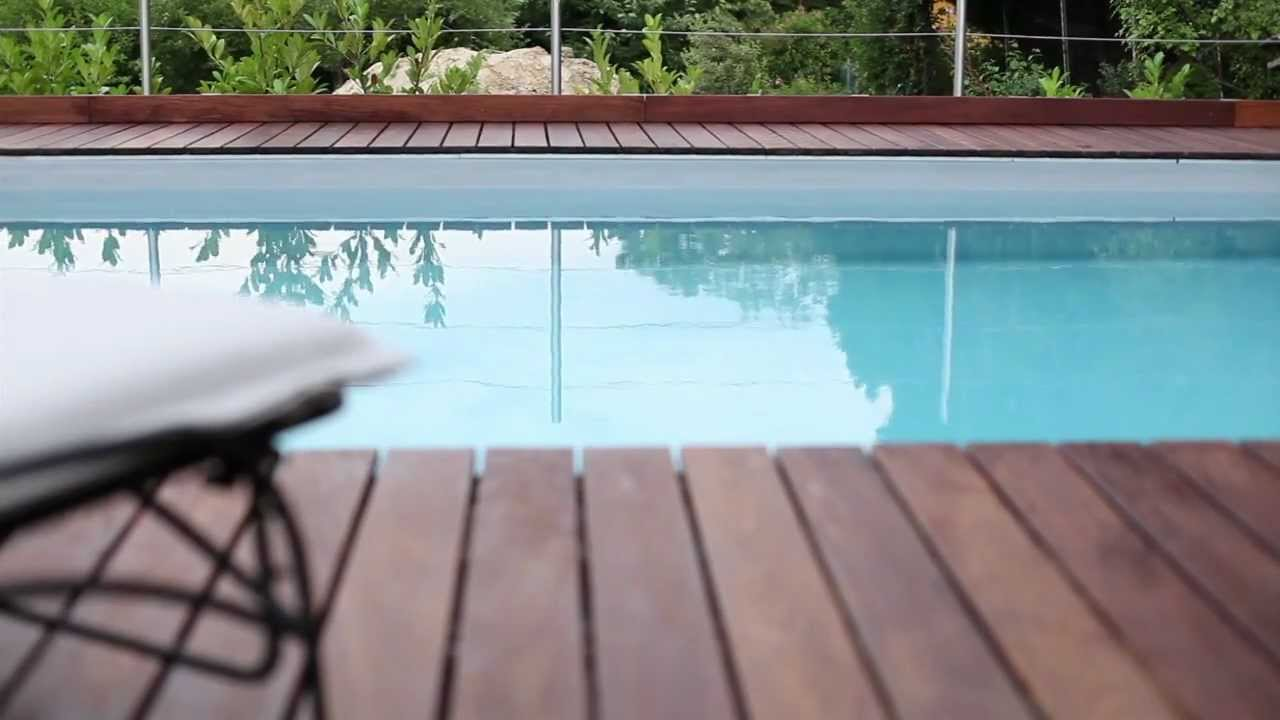 Pool design holz  Holzterrasse - holz & design simon alber - YouTube