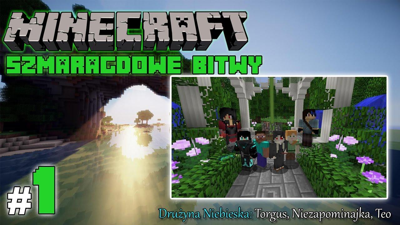 """Minecraft: Szmaragdowe Bitwy [Drużyna Niebieska] odc. 1 – """"Nowe przygody"""""""