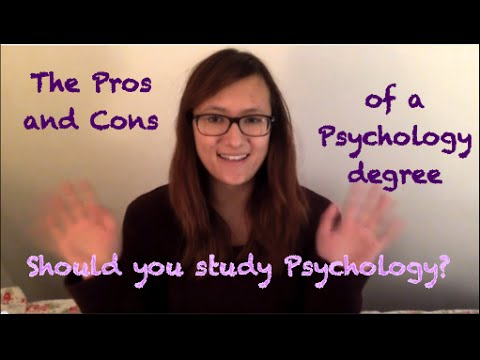 Pros and Cons of A Psychology Degree
