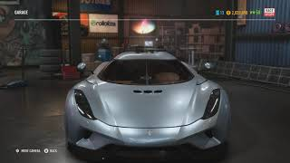 Koenigsegg Regera in 6 different racing games (Need for Speed, Forza Horizon and more)