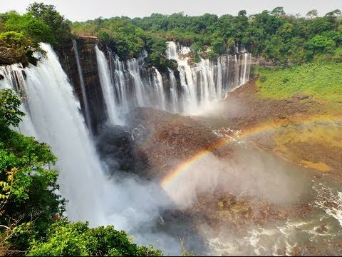 HD Angola - Kalandula falls 2nd biggest waterfalls in Africa/Calandula quedas de agua