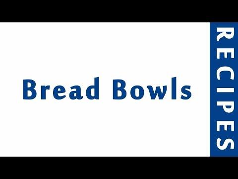 Bread Bowls 2 | MOST POPULAR BREAD RECIPES | RECIPES LIBRARY